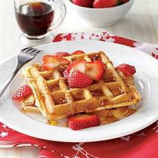 True Belgian Waffles Recipe Taste Of Home