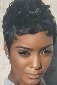 Black Hair Pixie Cut Hairstyles