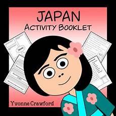 japanese elementary worksheets 19494 japan copywork activities and country booklet by yvonne