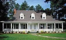 country house plans wrap around porch country home with wrap around porch 6221v