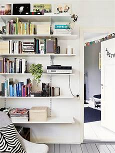 Adjustable Bracket Shelves In Living Room School Room