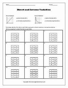 table of variations of a function worksheet pdf