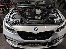 exclusive first at the engine of the new bmw m2 competition