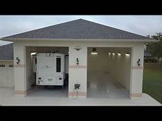 2 bay rv garage details of build youtube