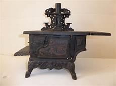 Antique Crescent Cast Iron Wood Stove Salesman Sle