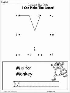 letter join worksheets free 23164 letter m writing worksheet and dot to dot kindergarten and preschool kindergarten books