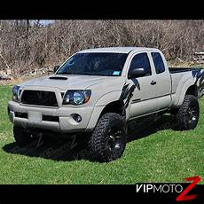 2011 Toyota Tacoma Accessories 2005 2011 toyota tacoma quot trd style quot black front headlights