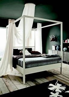 letto baldacchino legno letto nemo di altacorte in legno a baldacchino