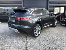 jaguar f pace occasion jaguar f pace s v6 3 0d 300 ch suv gris fonc 233 occasion