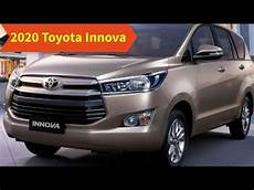 toyota innova 2020 2020 toyota innova features and redesign