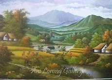 33 Ini Lukisan Pemandangan Alam Beserta Penjelasannya