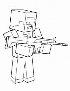 minecraft coloring pages to and print for free