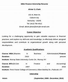 24 free finance resume templates pdf doc free