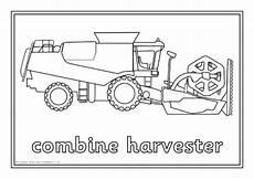 Ausmalbilder Bauernhof Fahrzeuge Farm Machinery Colouring Sheets Sb10799 Sparklebox