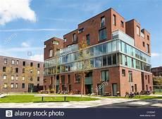 Contemporary Housing Amsterdam Netherlands Stock Photo