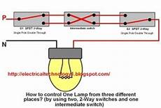 2 way switch how to control one l from three different places
