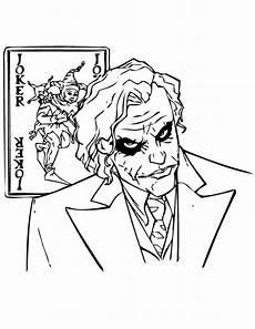 Malvorlagen Joker Why So Serious Joker Coloring Page Netart