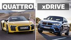 Quattro Vs Xdrive - the differences between audi quattro and bmw xdrive