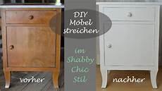 Alte Schränke Neu Gestalten - diy shabby chic stil altes schr 228 nkchen mit wei 223 er