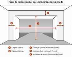 hauteur porte de garage sectionnelle quelle hauteur pour porte de garage sectionnelle travaux