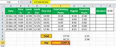 timesheet in excel easy steps to create timesheet