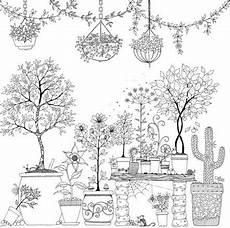 Ausmalbilder Erwachsene Garten Garten Malbuch Zenmalerei Malvorlagen Und Vorlagen Zum