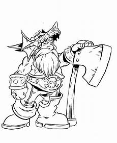 Malvorlagen Wow Free Printable World Of Warcraft Coloring Pages