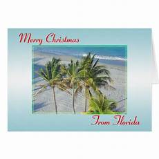 merry christmas from florida christmas card zazzle