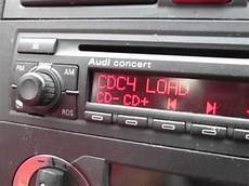 audi a3 radio audi a3 concert stereo 6 cd changer test 8p