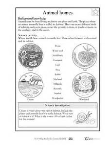 animal habitats worksheets grade 2 13887 animal worksheet new 18 animal habitat worksheet grade 3