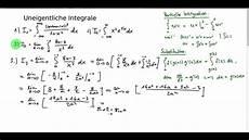 uneigentliche integrale 3