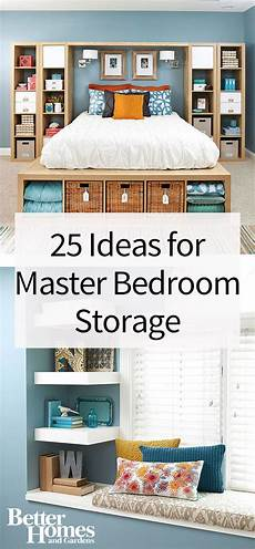 Bedroom Clothes Storage Ideas by Master Bedroom Storage Better Homes Gardens