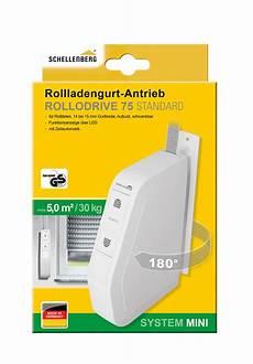 Schellenberg Elektrischer Rollladen Gurtwickler Aufputz