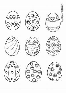 easter coloring pages easter eggs coloring pages for