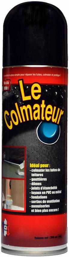 produit pour colmater fuite d eau le colmateur le spray bitume pratique pour tout colmater
