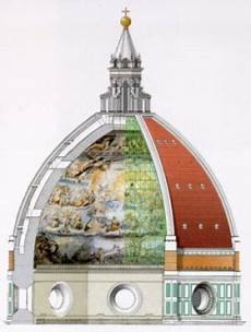 cupola duomo di firenze vetrate coro cupola il duomo di firenze