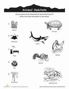 plants habitat worksheets 13564 home free printables and coloring pages on