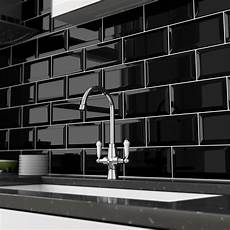 Black Metro Tiles Buy Metro Gloss Black Tiles