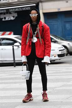 can t miss street style looks from pfw men s spring summer