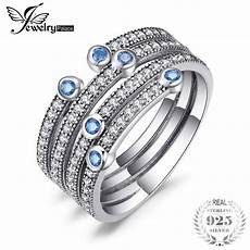 jewelrypalace 925 sterling silver dlicate craft multi ring 2018 new wedding band rings fashion