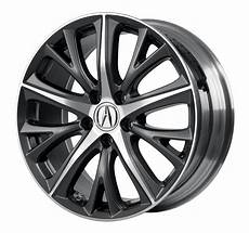 2016 acura ilx quot diamond cut two tone accessory wheels