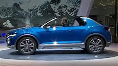 new volkswagen t roc concept world premiere