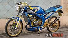 Modifikasi R 150 by Modifikasi Kawasaki R 150 Racing Modis