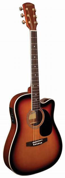 best thin acoustic guitar indiana 174 thin acoustic electric guitar sunburst reverb