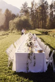 wedding decorations online in canada canada wedding a romantic mountainside celebration