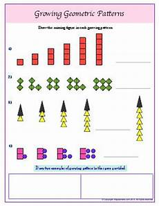 growing patterns worksheets for 3rd grade 573 4 oa c fourth grade math worksheets biglearners