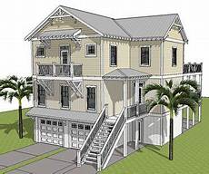 beach house plans on stilts elevated piling and stilt house plans coastal home