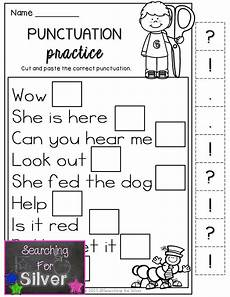 punctuation worksheets level 1 20823 back to school math literacy printables 1st grade grade writing kindergarten