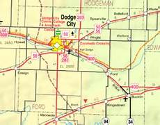 c dodge map dodge city kansas