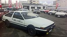 initial d 86 initial d toyota ae 86 replicas at special shop in japan